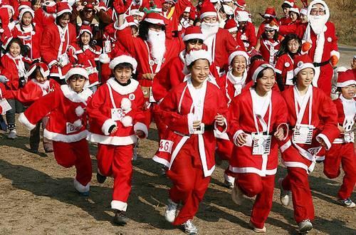 Santa Claus Maratona