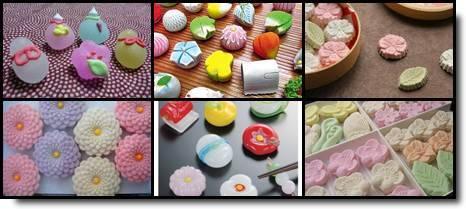 wagashi higashi doces japoneses tradicionais