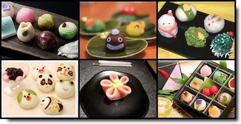 wagashi namagashi doces japoneses
