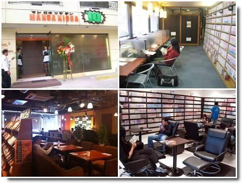 Mangá Kissa Mangá Café
