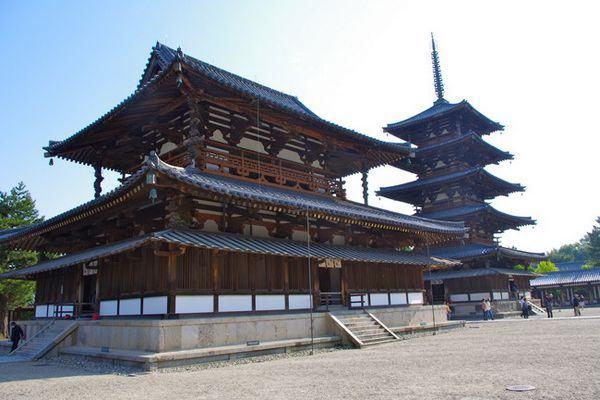 Horyu-ji templo