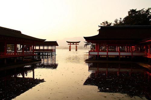 Santuário de Itsukushima Patrimônio Cultural da Unesco