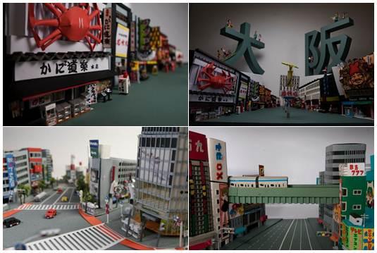 Yumiko Matsui recria a cidade de Tóquio através de miniaturas em papel fotos