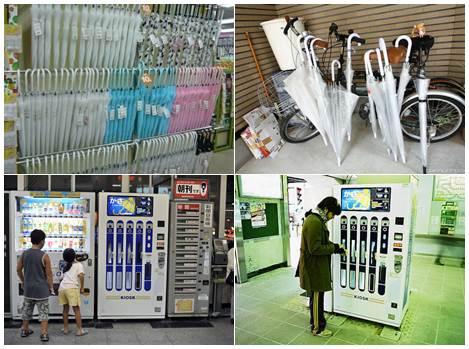 Comprar guarda chuva no Japão, uma tarefa simples