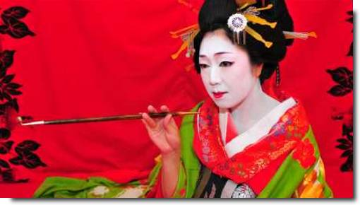 Oiran, atrizes e cortesãs japonesas