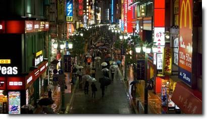 Tsuyu, estação chuvosa no Japão 11