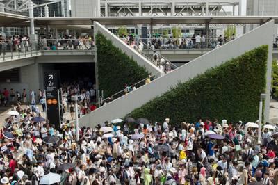Comiket, o maior evento otaku do Japão