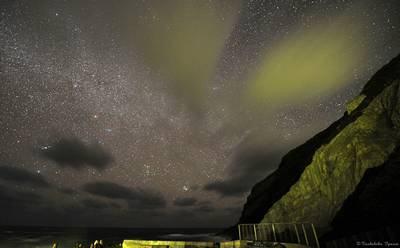 Ilha de Aogashima Céu estrelado foto de Toshihiko Igawa