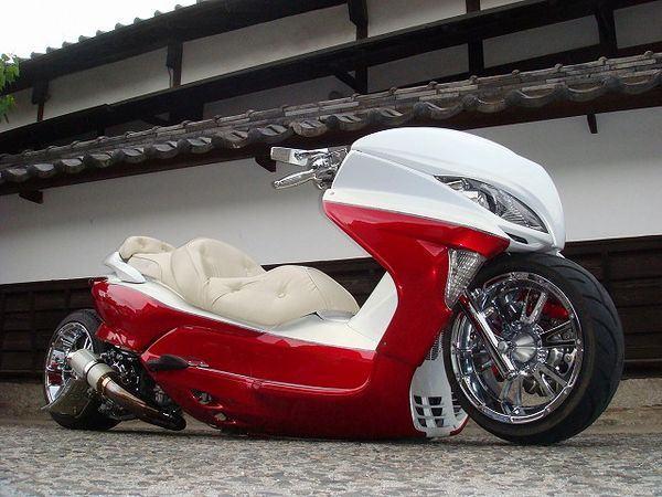 scooters no Japão