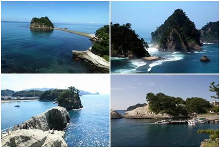 Dogashima Península de Izu Shizuoka Ken