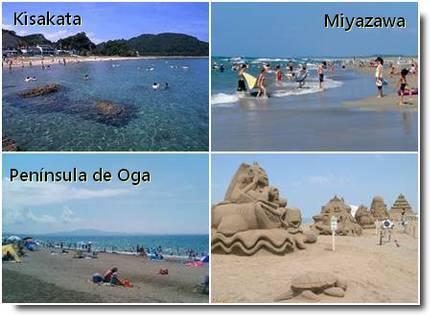 Praias de Akita ken