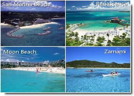 Praias de Okinawa