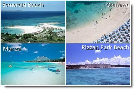 Praias em Okinawa