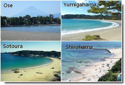 Praias em Shizuoka Ken