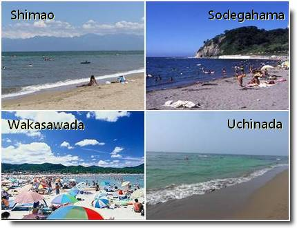 Praias em Toyama, Ishikawa e Fukui