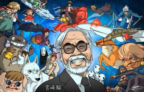 Hayao Miyazaki, o mestre da animação japonesa