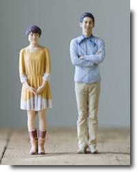 Miniaturas de si mesmo com impressora 3D