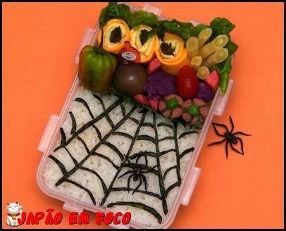 Obentos com tema Halloween