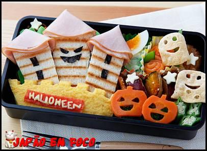 Halloween bento 1