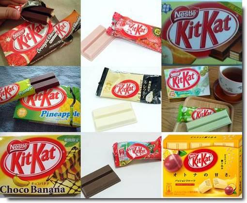 Kit Kat de frutas