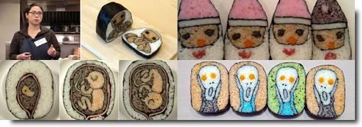 Sushi Art de Takayo Kiyota