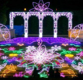 Osaka Namba Park Winter illumination