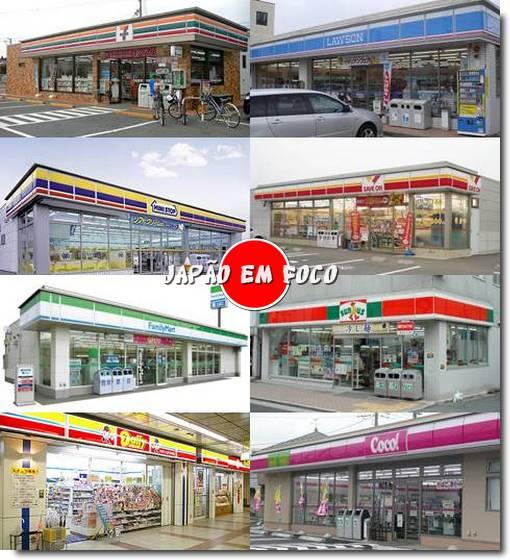 Principais Konbinis no Japão