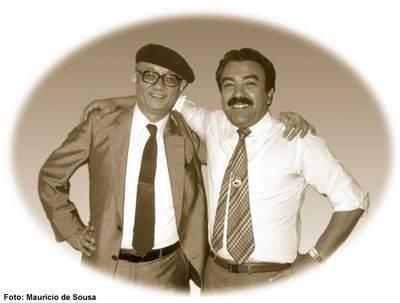 Tezuka Osamu e Maurício de Souza 1984