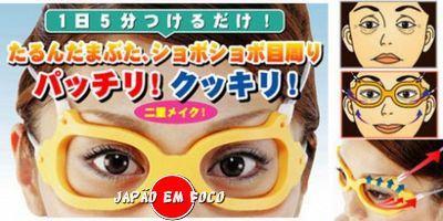 Engenhocas de beleza óculos anti-idade
