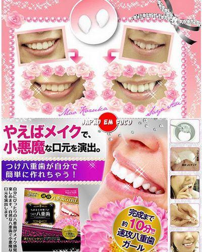 Engenhocas de beleza yaeba dentes postiços