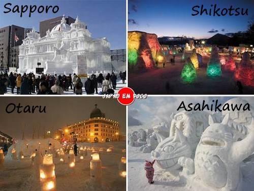 Festivais de Inverno no Japão
