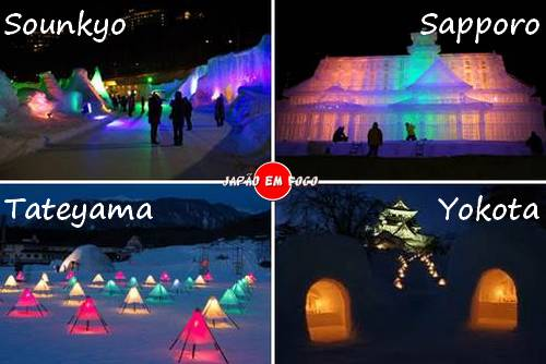 Festivais de Neve no Japão