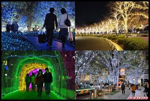 Iluminação de Natal no Japão