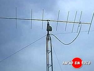 Invenções japonesas - Antena Yagi-Uda