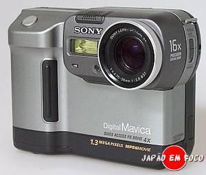 Invenções japonesas - Câmera Digital Sony Mavica