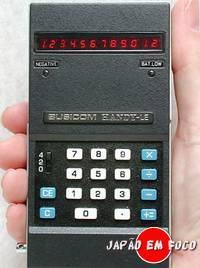Invenções japonesas - Calculadora portátil eletrônica Busicom LE-120A