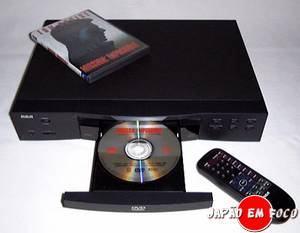 Invenções japonesas - DVD e DVD player