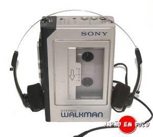 Invenções japonesas - Sony Walkman