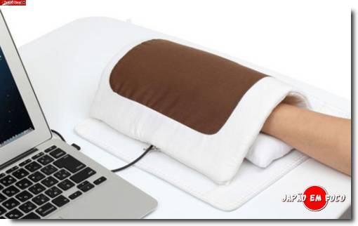 Mouse pad que esquenta a mão