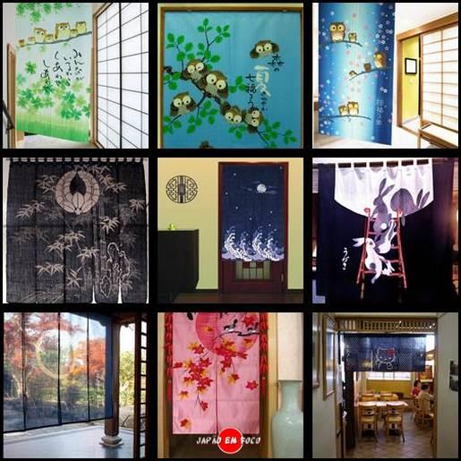 Noren, cortinas japonesas