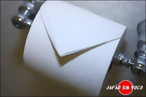 Origami papel higiênico 17