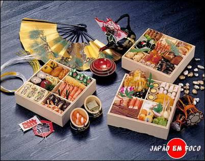 Osechi-ryouri, obento tradicional de Ano Novo