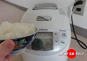 Panela de Arroz Elétrica no Japão