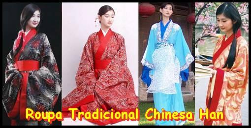 Roupa tradicional chinesa Han