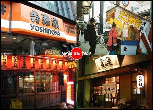 Tipos de restaurantes que existem no Japão