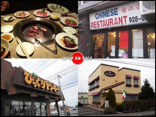 Tipos de restaurantes que existem no Japão 4