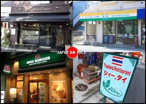 Tipos de restaurantes que existem no Japão 5