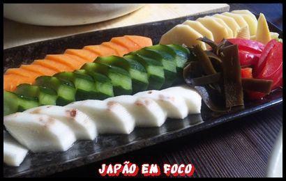 Tsukemono, legumes e verduras em conserva 1