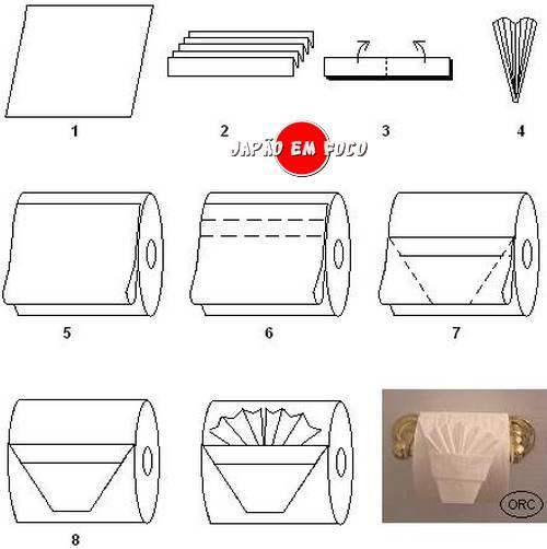 origami-papel higiênico-leque 2