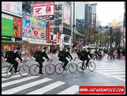 Bicicleta no Japão